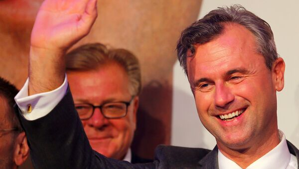 Norbert Hofer, el candidato de la derecha austriaca en las presidenciales - Sputnik Mundo