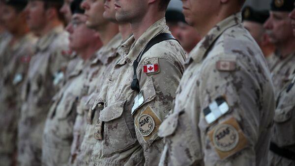 Militares canadienses (archivo) - Sputnik Mundo