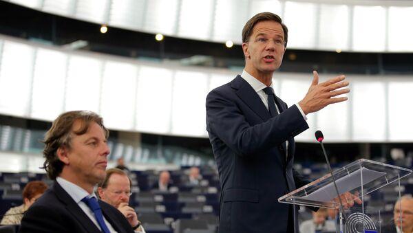 Primer ministro de Países Bajos, Mark Rutte (archivo) - Sputnik Mundo