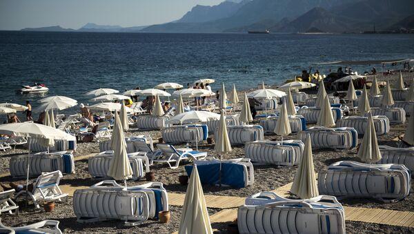 Uno de los balnearios turcos - Sputnik Mundo