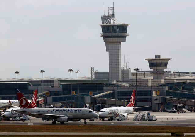 El aeropuerto internacional de Ataturk en Estambul