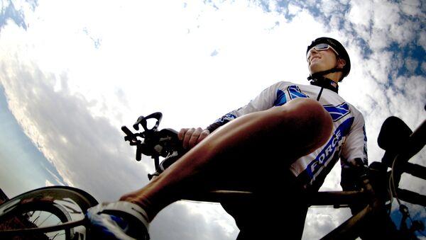 Un ciclista (archivo) - Sputnik Mundo