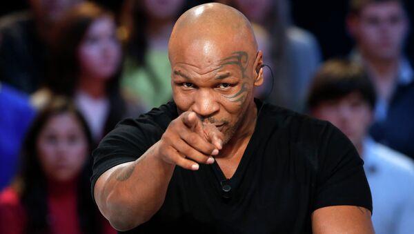 Mike Tyson, legendario boxeador estadounidense - Sputnik Mundo