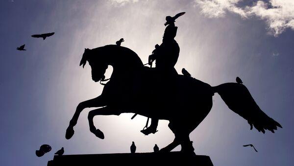 Monumento al General San Martín en Buenos Aires - Sputnik Mundo