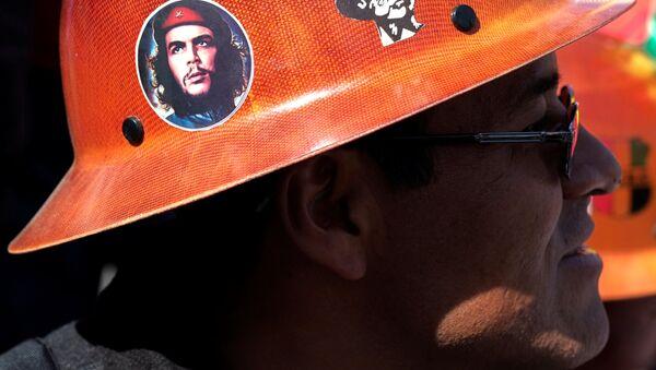 Protesta de la Central Obrera Boliviana (archivo) - Sputnik Mundo