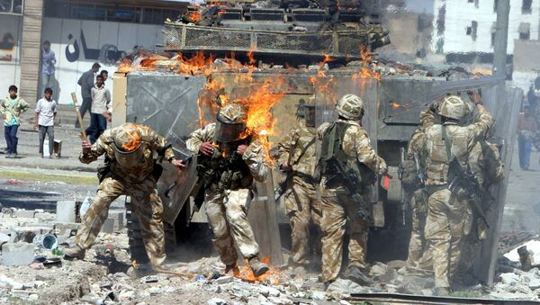 Militares británicos en Irak (2004) - Sputnik Mundo