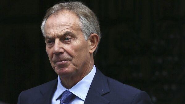Tony Blair, ex primer ministro del Reino Unido - Sputnik Mundo
