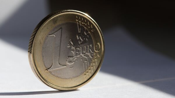 Moneda de euro - Sputnik Mundo