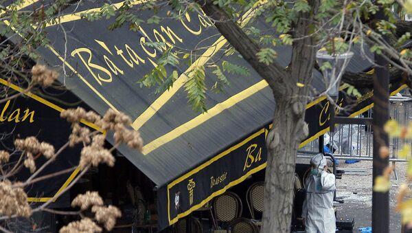 Teatro parisiense de Bataclan - Sputnik Mundo