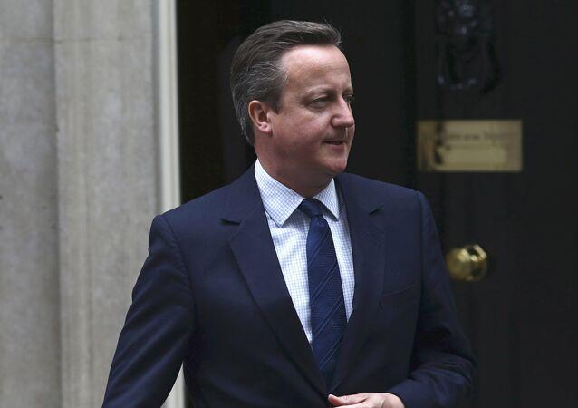 David Cameron, el primer ministro de Reino Unido