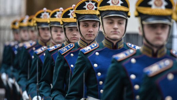 Soldados del Regimiento Presidencial - Sputnik Mundo