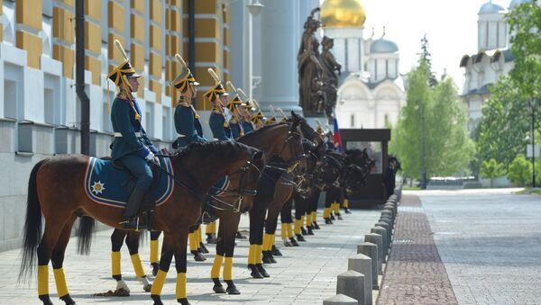 Jinetes del Regimiento Presidencial - Sputnik Mundo