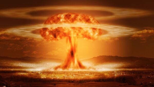 La explosión de una bomba nuclear - Sputnik Mundo
