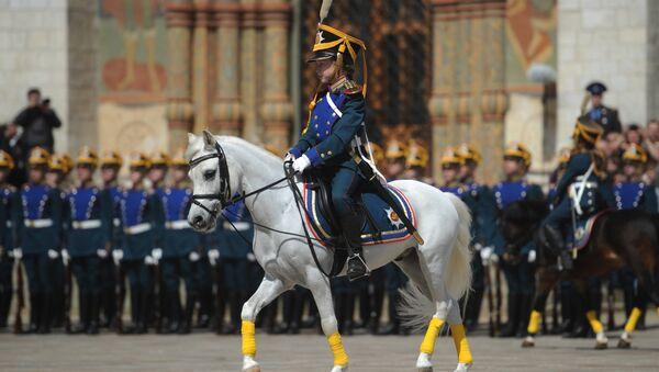 Alumno del Regimiento Presidencial - Sputnik Mundo