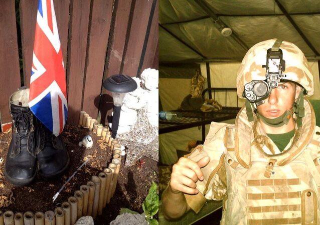 Michael Trench, uno de los soldados más jóvenes que murieron en Irak en 2007