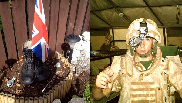 Michael Trench, uno de los soldados más jóvenes que murieron en Irak en 2007 - Sputnik Mundo