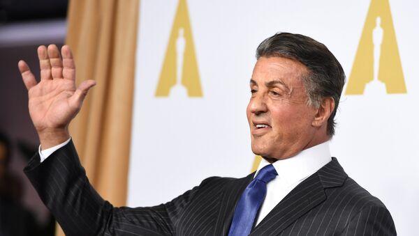 El actor estadounidense, Sylvester Stallone - Sputnik Mundo