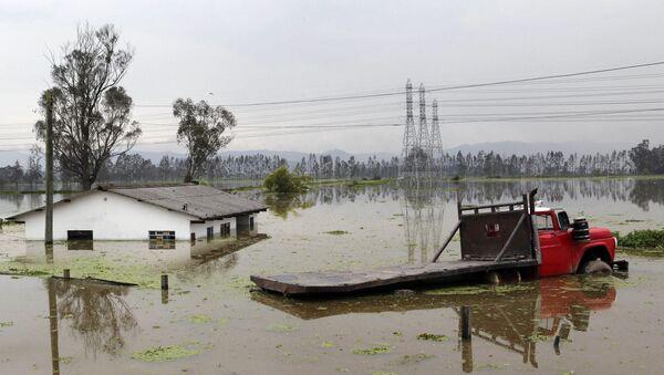 Inundaciones en Colombia (archivo) - Sputnik Mundo