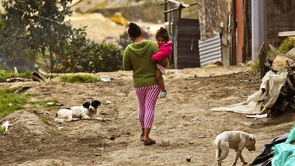 Desplazados en Colombia - Sputnik Mundo