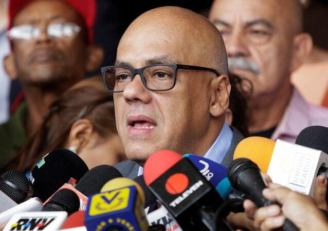 Jorge Rodríguez, alcalde de Caracas (archivo)