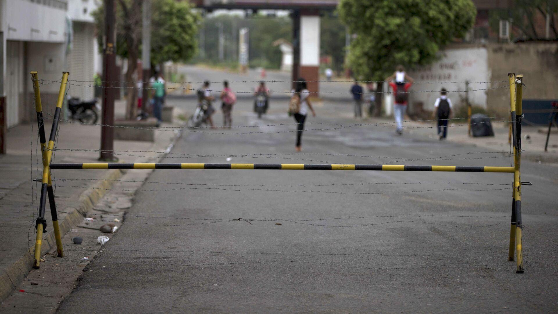 Frontera entre Colombia y Venezuela - Sputnik Mundo, 1920, 02.06.2021