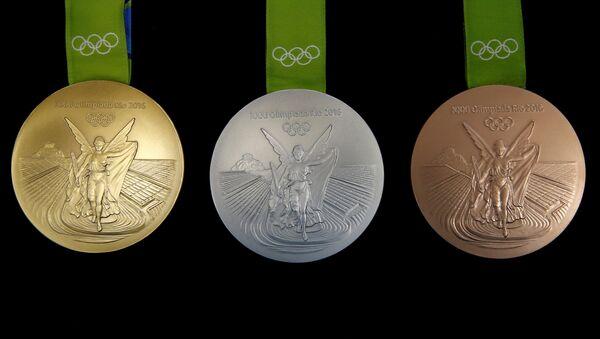 Las medallas olímpicas de los JJOO de Río-2016 - Sputnik Mundo