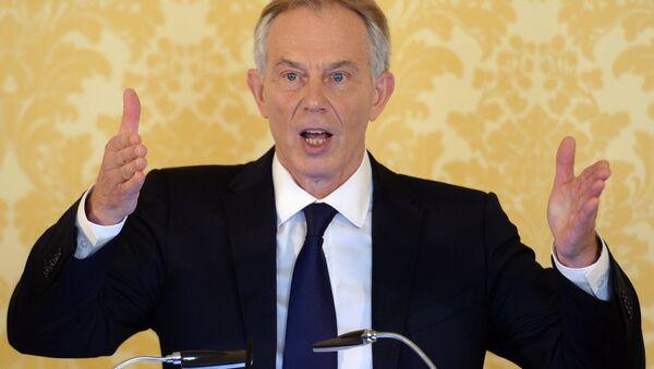 Tony Blair, ex primer ministro de Gran Bretaña (archivo) - Sputnik Mundo