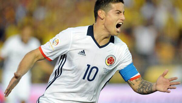 James Rodriguez durante la Copa America Centenario 2016. - Sputnik Mundo