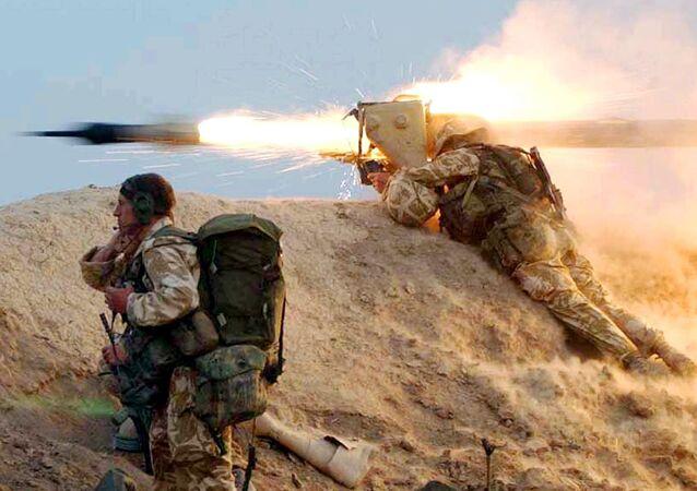 Soldados británicos in Irak (archivo)
