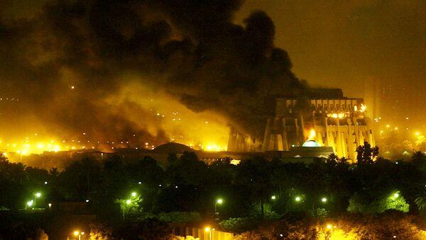 La guerra de Irak, 2003 (archivo) - Sputnik Mundo