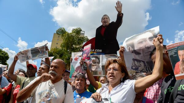 Partidarios del partido venezolano PSUV - Sputnik Mundo