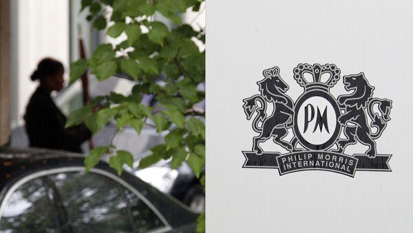 El logo de la compañía Philip Morris - Sputnik Mundo