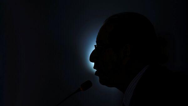 Eduardo Cunha, presidente apartado de la Cámara de Diputados de Brasil - Sputnik Mundo