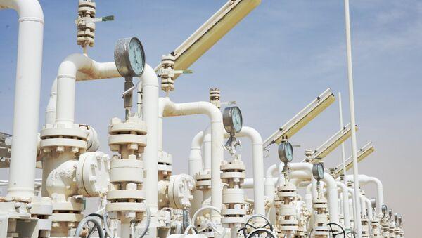 Una planta de gas cerca de la ciudad siria de Homs - Sputnik Mundo