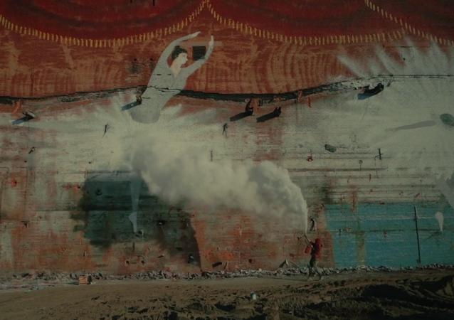 ¿Arte o vandalismo?: así es el grafiti más grande del mundo