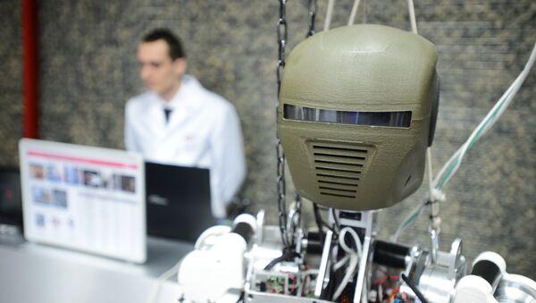 Un robot ruso (Archivo) - Sputnik Mundo