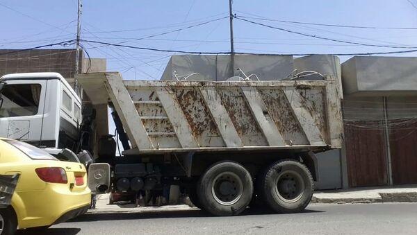 Camión del Daesh en Mosul - Sputnik Mundo