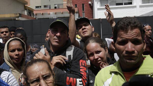 Migrantes cubanos en Ecuador - Sputnik Mundo