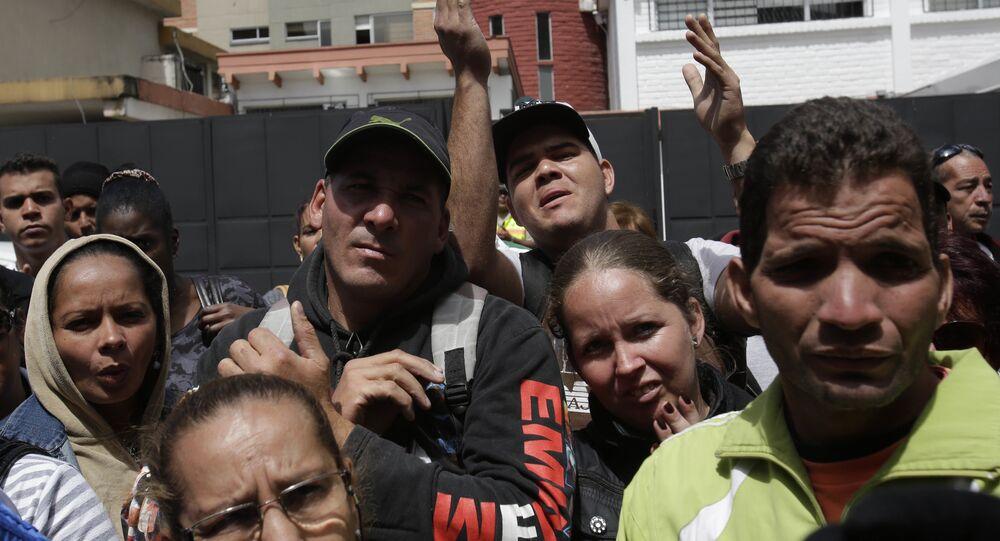 Migrantes cubanos en Ecuador