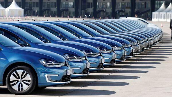 Los carros de Volkswagen - Sputnik Mundo