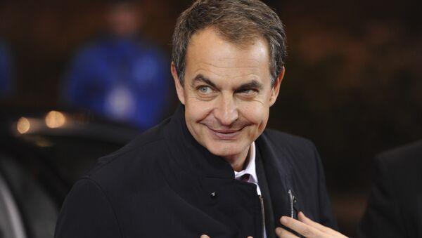 José Luis Rodríguez Zapatero, expresidente del Gobierno de España (archivo) - Sputnik Mundo