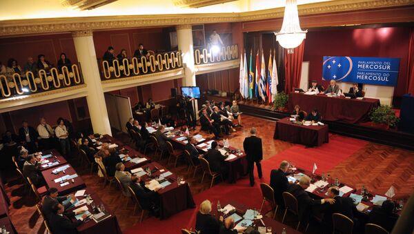 Una sesión plenaria del Parlasur (archivo) - Sputnik Mundo