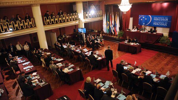 Una sesión plenaria del Parlasur - Sputnik Mundo
