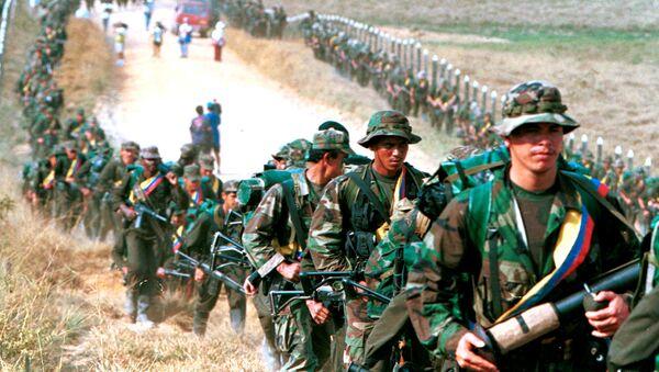Los militantes de las FARC (archivo) - Sputnik Mundo