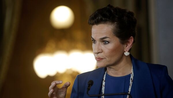 Christiana Figueres, política costarricense. - Sputnik Mundo