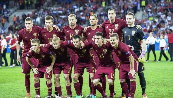 La selección rusa de fútbol - Sputnik Mundo