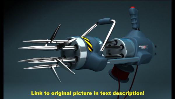 una lanzadora de estacas - Sputnik Mundo