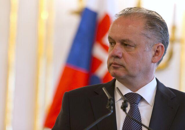 Andrej Kiska, presidente eslovaco