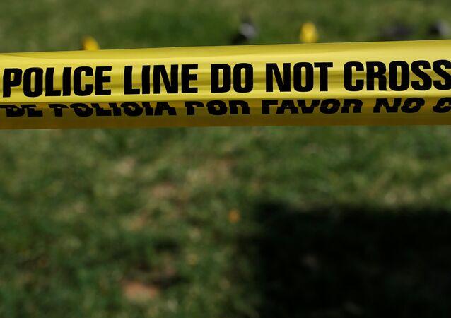 Cinta policial en EEUU