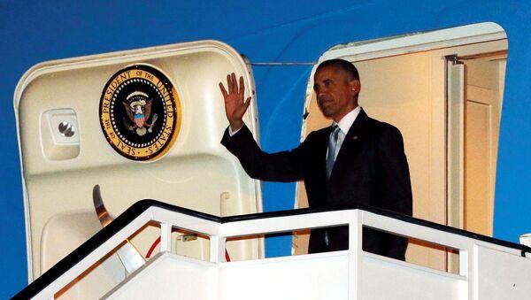 Visita de Barack Obama a España, el 9 de julio de 2016 - Sputnik Mundo